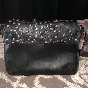 Patricia Nash Bags - Patricia Nash Rosa crossbody bag black studded